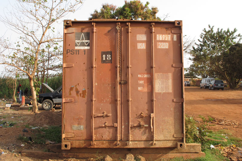 Container im Tchad (2)